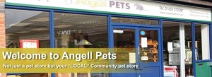 Angell Pets Pet shop Gloucester