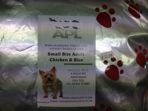 Angell Pet dog food