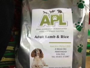 Angell Pet dog food