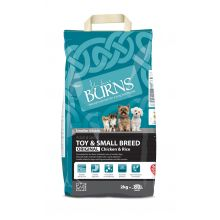 burns toy and small breed