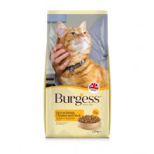 Burgess cat chicken & duck