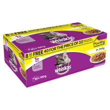 Whiskas pouch poultry