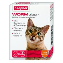 Worm Clear Cat