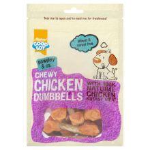 Chicken dumbells