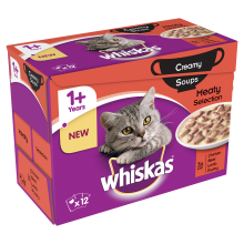 whiskas soup meat