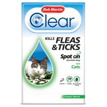 flea clear cat