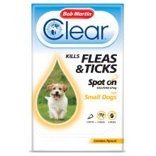 flea clear small dog