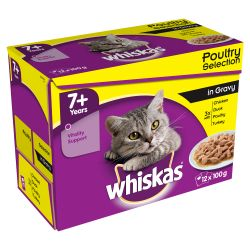 Whiskas 7+ In Gravy