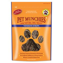 pet munchie venison strip