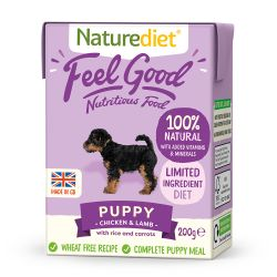 Nature Diet Puppy 200g