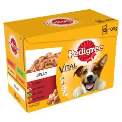 Pedigree Dog Pouch Favourites In Jelly