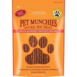 Pet Munchies Duck & Sweet Potato Stick