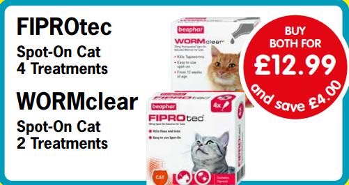 pet shop gloucester fiprotec wormclear